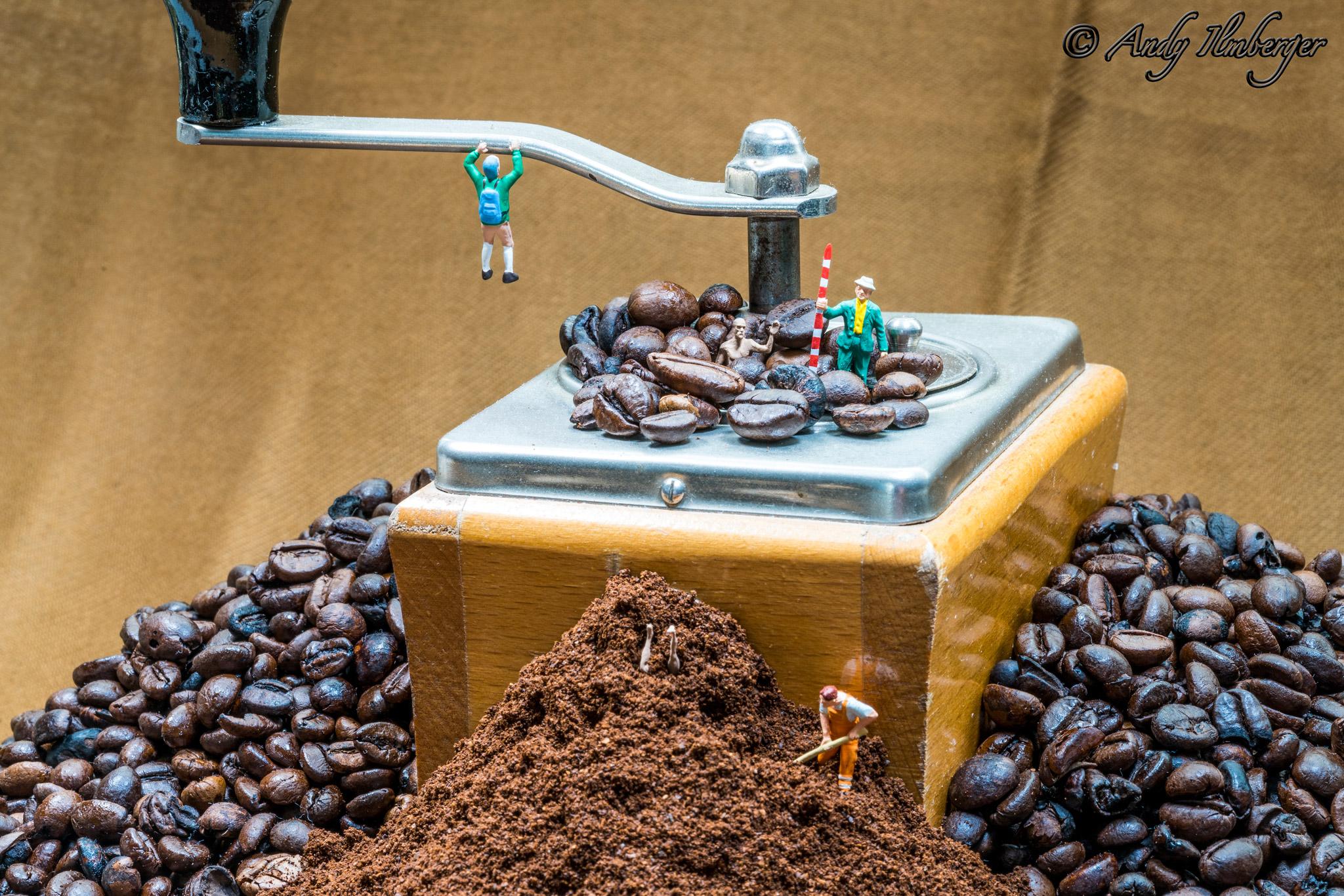 Kaffeemühlen-Blues - H0-Figuren in Szene gesetzt von © Andy Ilmberger im Kleine-Helden.Club