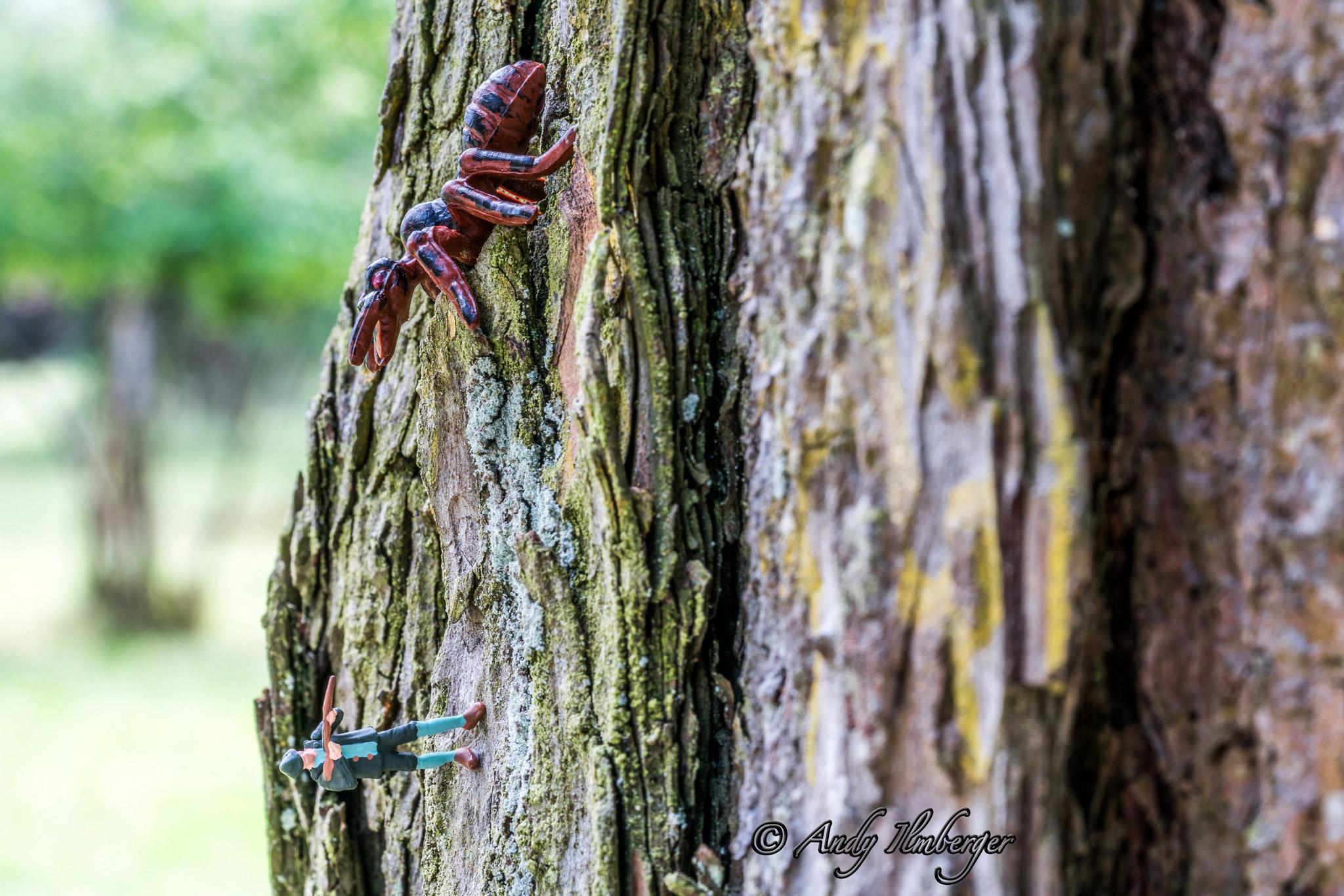 Termitenjagd - H0-Figuren in Szene gesetzt von © Andy Ilmberger im Kleine-Helden.Club