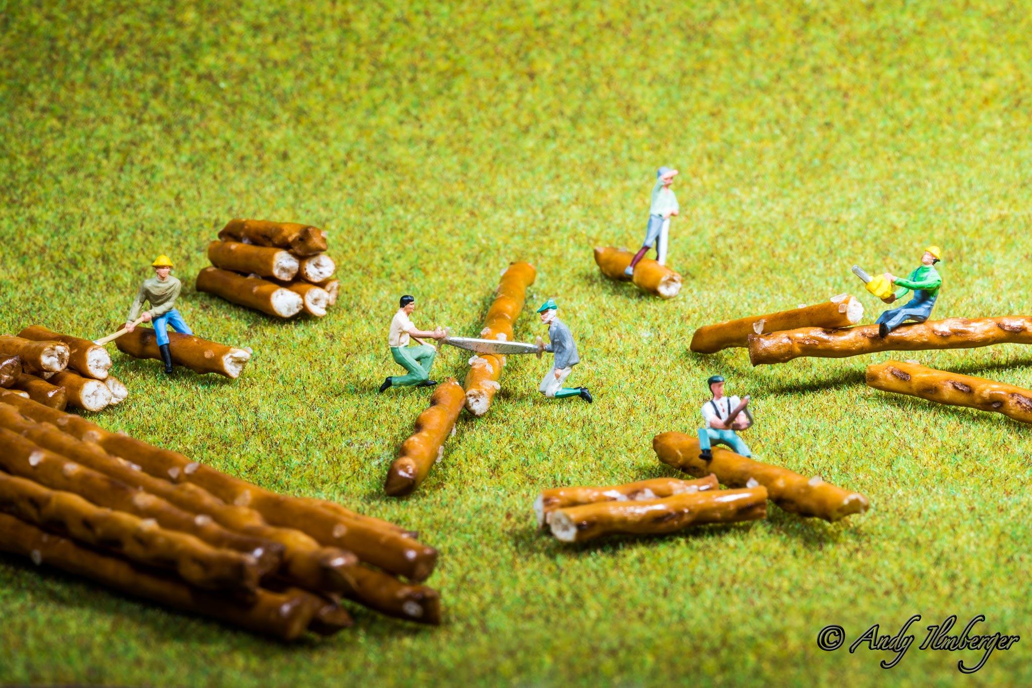 H0-Helden - Salzstangen- H0-Figuren in Szene gesetzt von © Andy Ilmberger im Kleine-Helden.Club