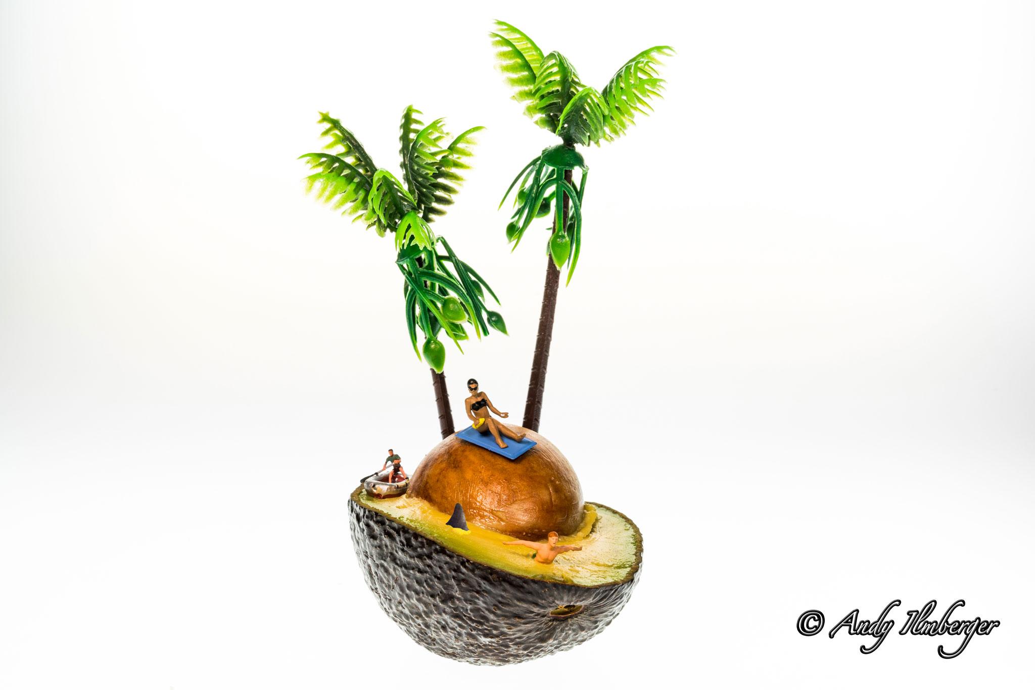 H0-Helden - Avocado Island - H0-Figuren in Szene gesetzt von © Andy Ilmberger im Kleine-Helden.Club