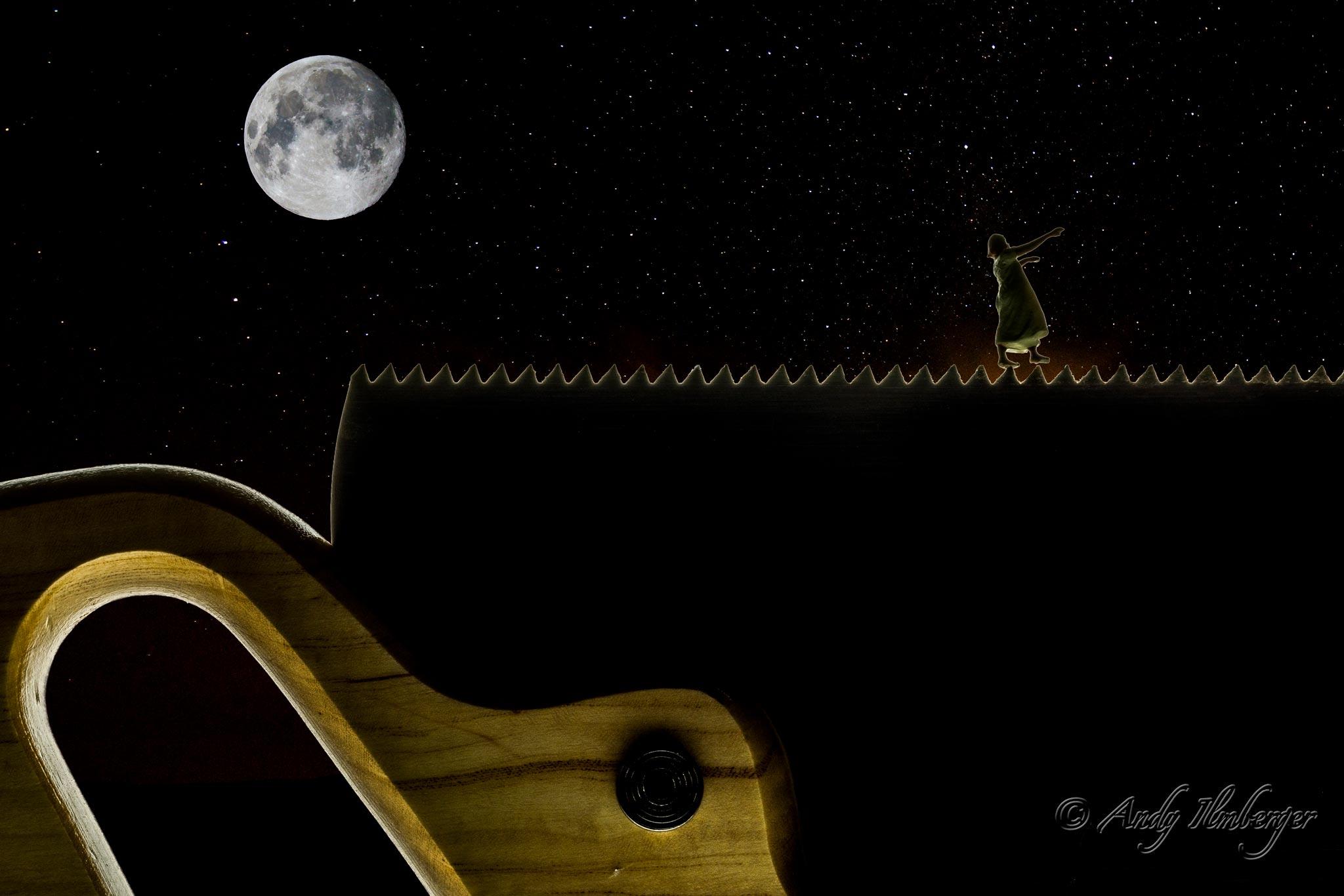 H0-Helden - Mondsüchtig - H0-Figuren in Szene gesetzt von © Andy Ilmberger im Kleine-Helden.Club