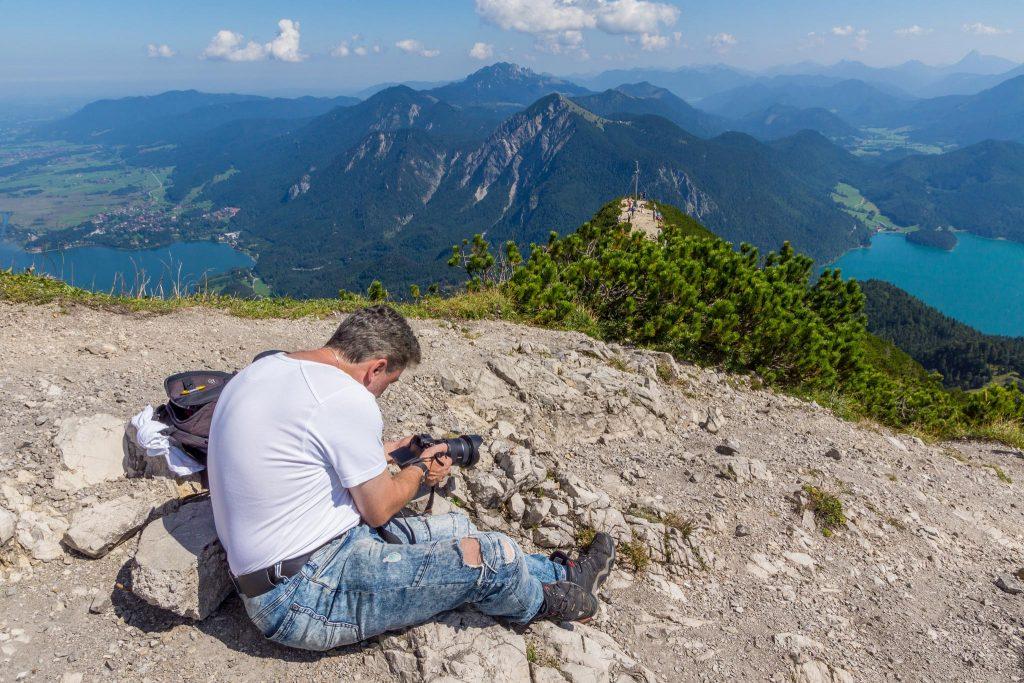 H0-Helden - Herzogstand-Klettern-Making-Of - H0-Figuren in Szene gesetzt von © Andy Ilmberger im Kleine-Helden.Club