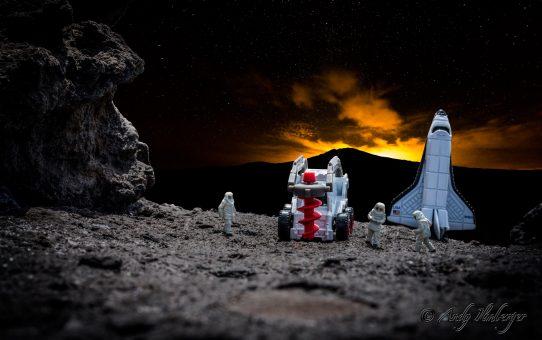 Kleine Helden auf dem Mars suchen nach Wasser