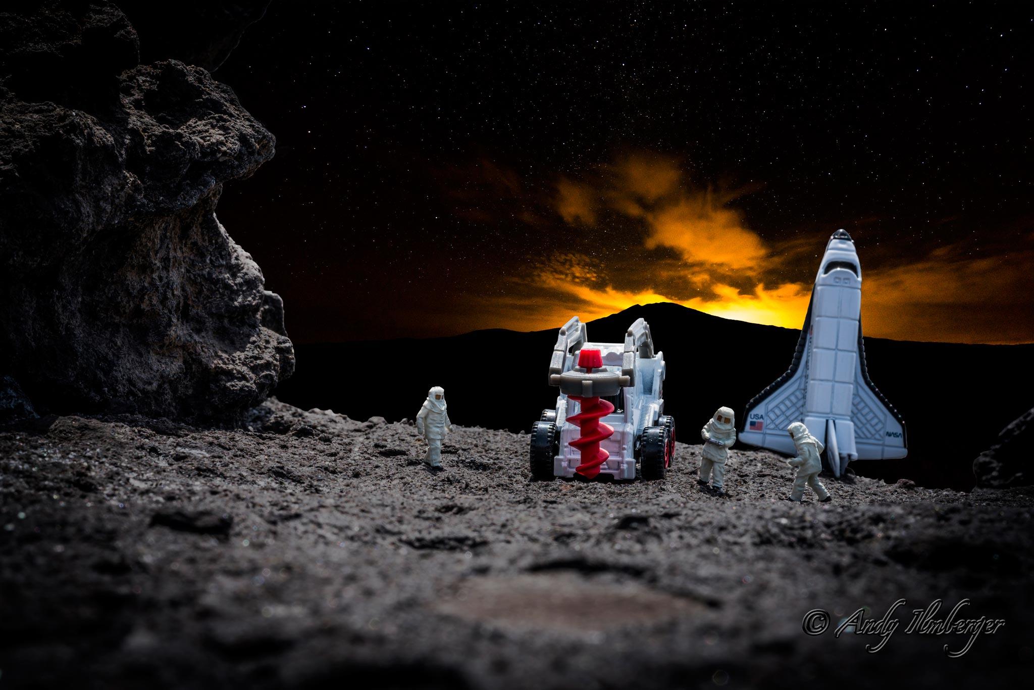 H0-Helden - Marsexpedition - H0-Figuren in Szene gesetzt von © Andy Ilmberger im Kleine-Helden.Club