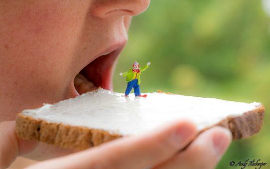 Kleiner Clown zum Frühstück