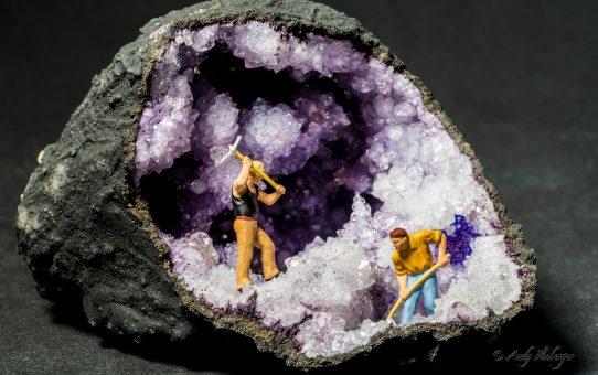 Kleine Helden im Bergwerk