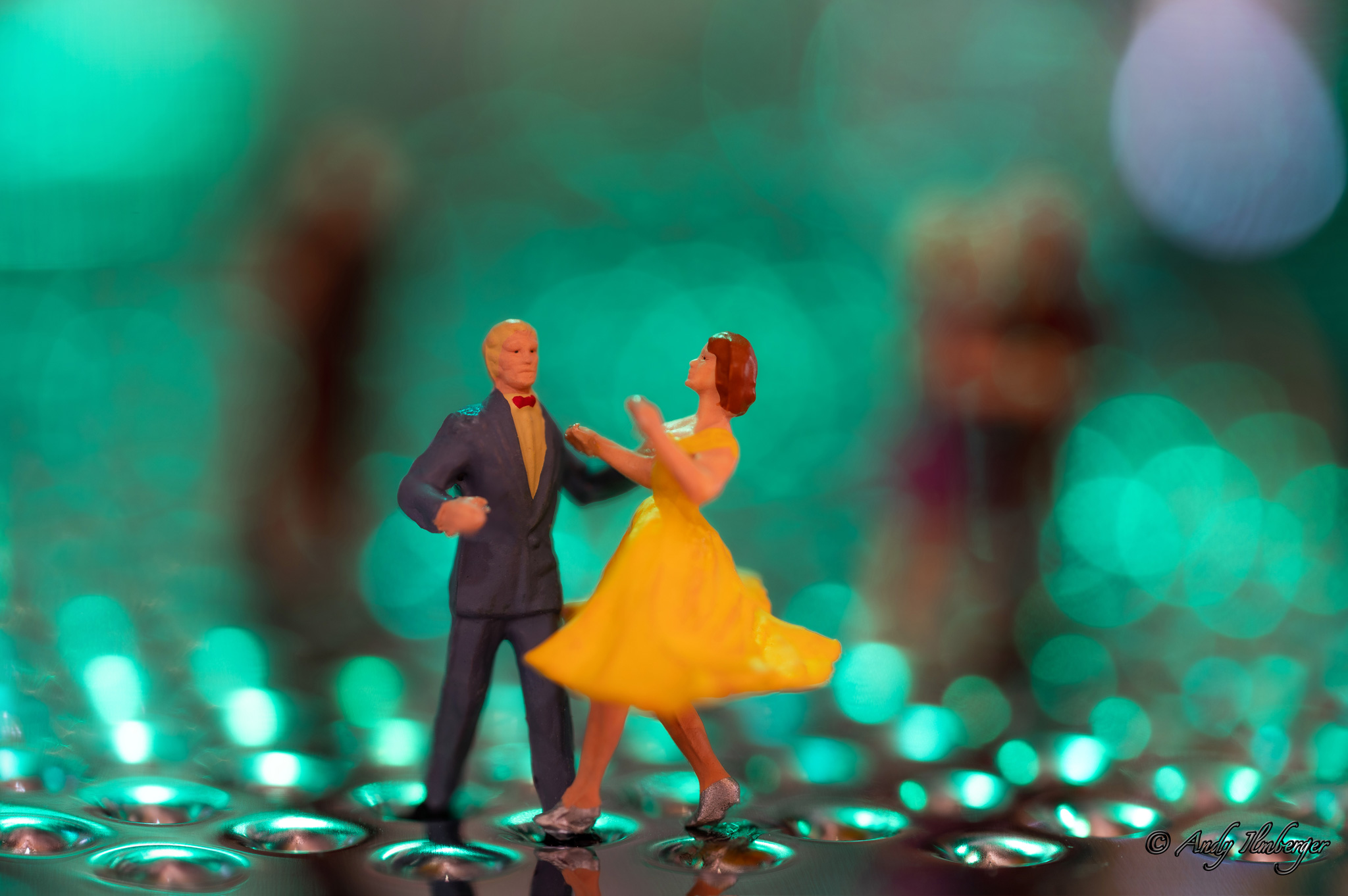 H0-Helden - Ballroom-Dancing - H0-Figuren in Szene gesetzt von © Andy Ilmberger im Kleine-Helden.Club