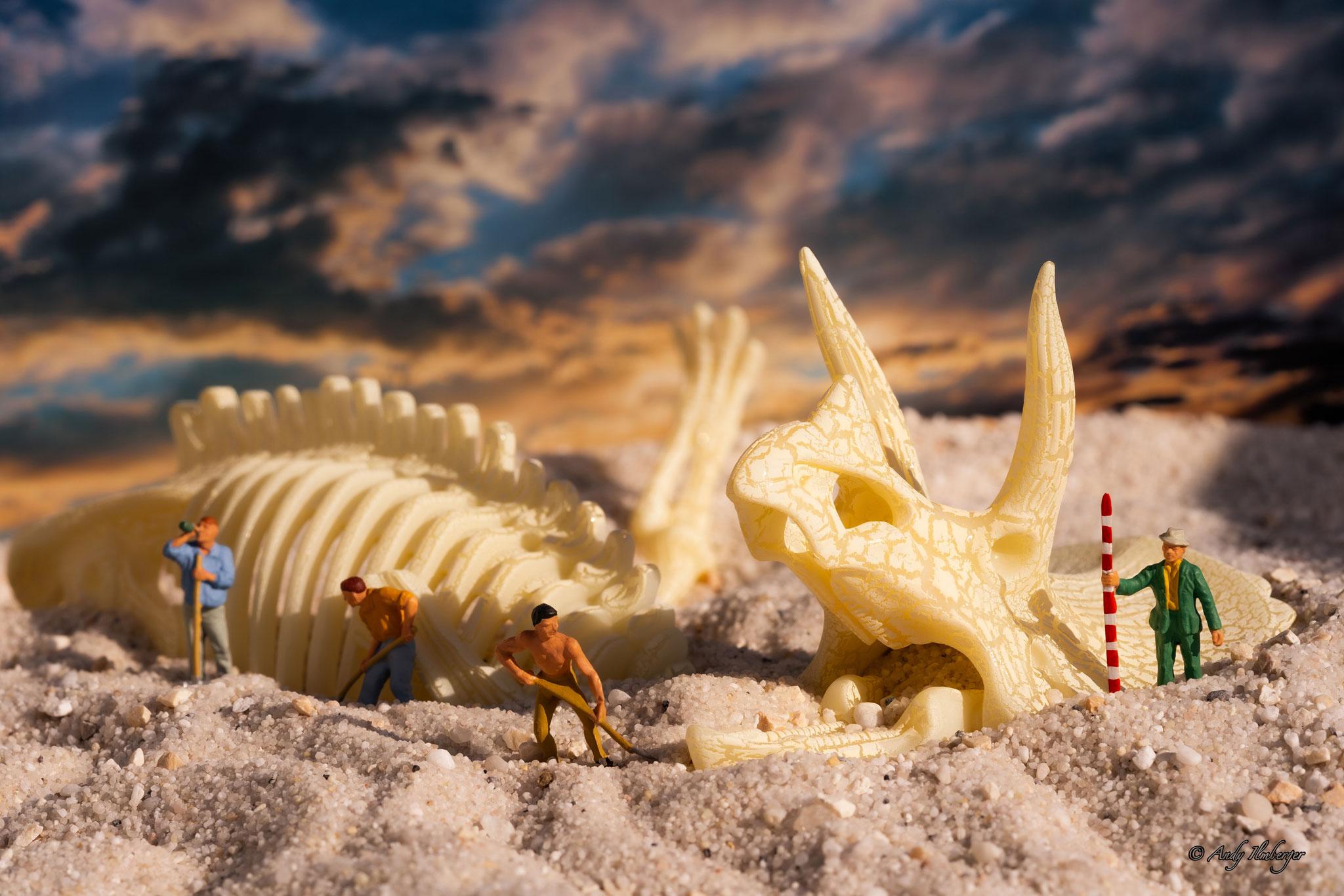 H0-Helden - Archäologie - H0-Figuren in Szene gesetzt von © Andy Ilmberger im Kleine-Helden.Club